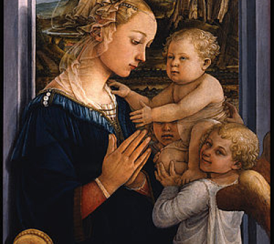 Filippo Lippi. Madonna and Child. 1465.