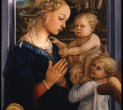 Filippo Lippi. Madonna and Child. 1465.
